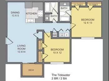 EasyRoommate US - Room for Rent - MOVE IN READY - Jackson, Jackson - $380 pcm