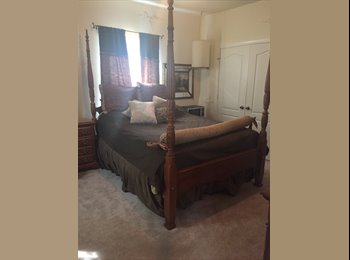 Large Furnished Bedroom and Private Bath with small...