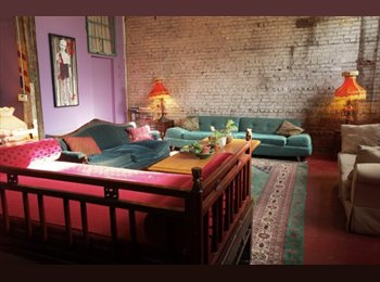 EasyRoommate US - large furnished room with two floors very high ceilings - Greenpoint, New York City - $1,400 /mo