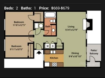 EasyRoommate US - 2bd 1ba room for rent - Tucson, Tucson - $500 pcm
