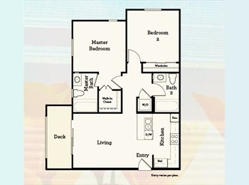 EasyRoommate US - APARTMENT FOR SHARE, COLLEGE STUDENT, PALOMAR STAT - San Marcos, San Diego - $1,070 pcm