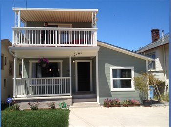 EasyRoommate US - Spacious Room Available in Beautiful Berkeley Home - Alameda, Oakland Area - $850 pcm
