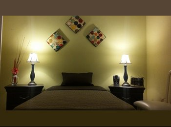 Renting furnished room to female student