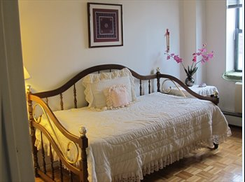 A BRIGHT, COZY, FULLY FURNISHED ROOM