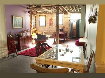 A beautiful Gypsy Wagon room around 300 sqft