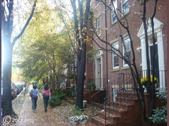 EasyRoommate US - Master Bedroom with En-suite Large Bathroom and La - Georgetown, Washington DC - $1,900 pcm