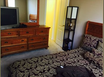 Nicely decorated room available for a Clean and organized...