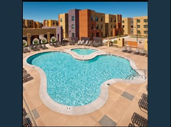 EasyRoommate US - $499 room for rent for summer 2015 May-August  - Central El Paso, El Paso - $499 pcm