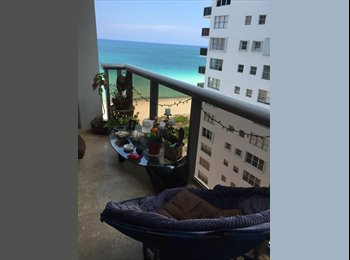 Room for rent in Miami beach  only females