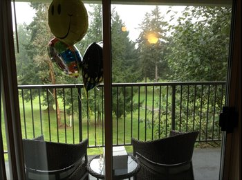 EasyRoommate US - Luxury apartment that sits off a golf course - Tacoma City, Tacoma - $600 pcm