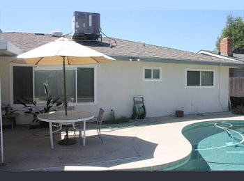 EasyRoommate US - ROOM FOR RENT in House with Swimming Pool! ALL Uti - The West Side, Fresno - $650 pcm