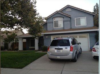 EasyRoommate US - Great Room in 2100 squ foot house  - Pleasanton, San Jose Area - $565 pcm