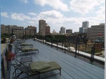 EasyRoommate US - Room for rent in luxury downtown condo  - Downtown, Milwaukee Area - $900 pcm