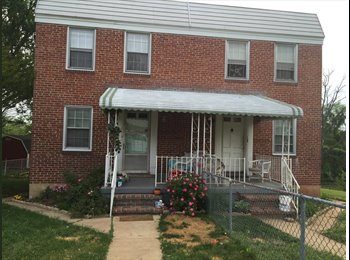 EasyRoommate US - looking for a roommate. Temporary. - Southern, Baltimore - $600 pcm