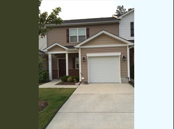 EasyRoommate US - Seeking female roommate to share 3 bdrm townhome - Durham, Durham - $650 pcm
