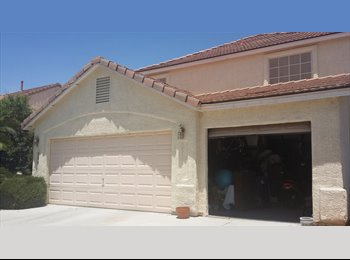 EasyRoommate US - Fully furnished master bedroom+bath available. $750  - Silverado Ranch, Las Vegas - $750 pcm