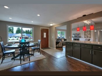 EasyRoommate US - $600 Newly Remodeled House Renting out One Room (E - Kent, Kent - $600 pcm