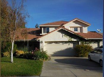 EasyRoommate US - $500 ROOMS IN BEAUTIFUL TEMECULA  HOUSE - Temecula, Southeast California - $500 /mo