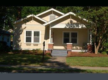 EasyRoommate US - Great Off-Campus House - Need 2 Roommates - Burlington, Greensboro - $500 pcm