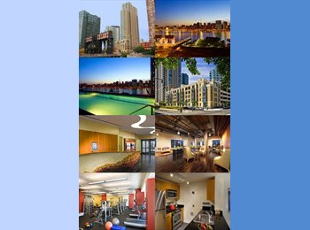 EasyRoommate US - Looking for Roommate for Luxuriest Building in LIC - Long Island City, New York City - $1,000 pcm