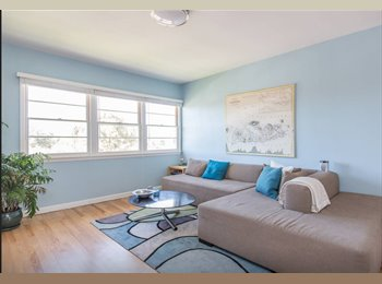 EasyRoommate US - YOUR OWN BEACH HOME - Sublet my apartment Aug-Oct! - Venice, Los Angeles - $2,500 pcm