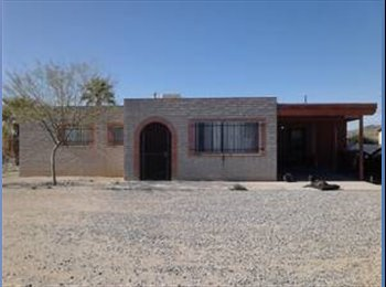 EasyRoommate US - Nice three bedroom; two bathrooms house - Tucson, Tucson - $390 pcm
