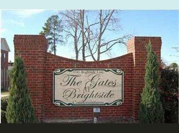 EasyRoommate US - Have 2/2 condo on Brightside - need female roomie. - Baton Rouge, Baton Rouge - $650 pcm