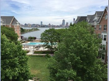 1 BR w/BATH in Waterfront Penthouse, NO FEE