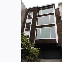 EasyRoommate US - Huge bedroom available in 3bd/2a condo! - Haight Ashbury, San Francisco - $1,950 pcm