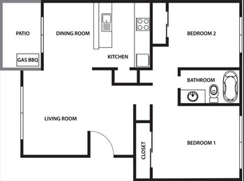 EasyRoommate US - Room Available in 2 Bedroom, 1 Bath - Chico, Northern California - $380 pcm