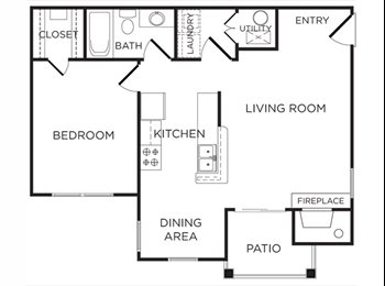 EasyRoommate US - One bedroom for Sublease - Iredell County, Chapel Hill - $839 pcm