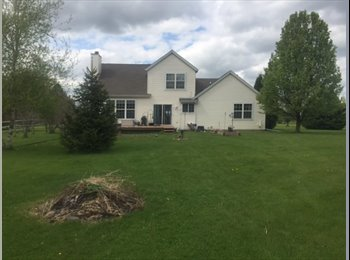 EasyRoommate US - Share 3 Bedroom Home in Country Setting - Racine County, Milwaukee Area - $500 pcm