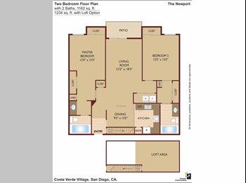 Renting 1B1B in 2B2B apartment in Costa Verde Vill