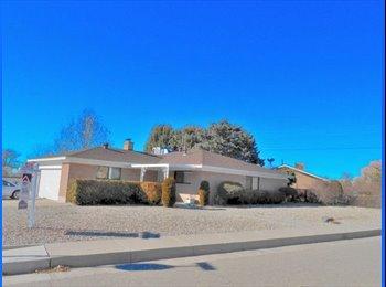 EasyRoommate US - Spacious Home - Northeast Heights - North East Quadrant, Albuquerque - $450 pcm