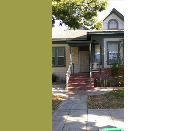 EasyRoommate US - Small bedroom available in Victorian house with 3 roommates - Stockton, Sacramento Area - $300 pcm