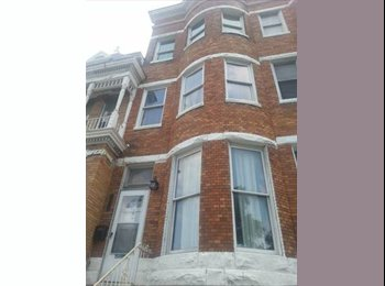Act Fast! Share a HUGE rowhome on Druid Hill Park