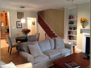 Private bed and bath in 2BR 2.5 BA townhouse- patio and...