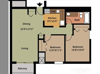 EasyRoommate US - Room mate wanted for Harrison Twp - Clinton/Harrison Twnsp/Fraser, Detroit Area - $400 pcm