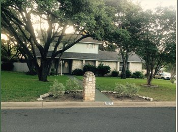 EasyRoommate US - Share a Lovely Home in NW Austin! 2 Rms w/ On-suite bath - Northwest Austin, Austin - $850 pcm