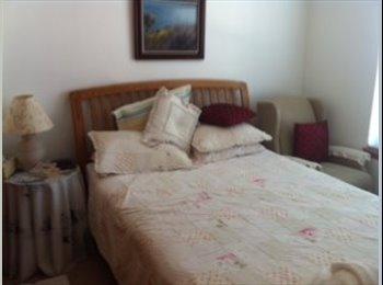 Bedroom, bathroom and sitting room