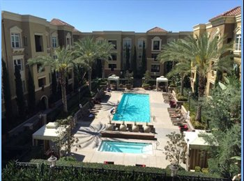 EasyRoommate US - Master Bedroom Available in Luxury Complex August - Platinum Triangle, Anaheim - $1,043 pcm
