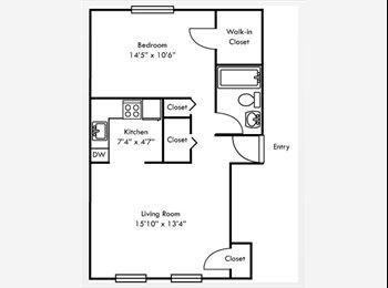 EasyRoommate US - 1bd share for $550 - Hampton, Hampton Area - $550 /mo