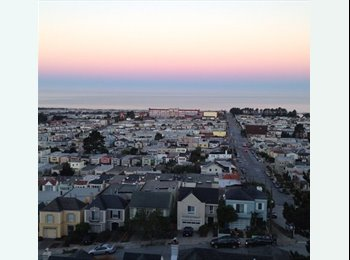 EasyRoommate US - Fully Furnished room available - Sunset, San Francisco - $750 pcm