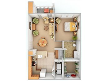 EasyRoommate US - 1 bedroom all inclusive $730 - Asheville, Other-North Carolina - $730 pcm