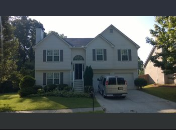 EasyRoommate US - ROOMS AVAILABLE IN NEAT 4 BED HOUSE - Kennesaw / Acworth, Atlanta - $500 pcm