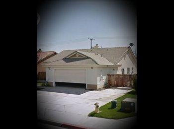 EasyRoommate US - Spacious room, Clean & nice neighborhood- Hemet CA - Hemet, Southeast California - $600 /mo