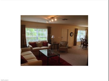 EasyRoommate US - $1350 / 3br-2.5 ba-with amazing Lake view *ANNUAL* - Naples, Other-Florida - $1,350 pcm