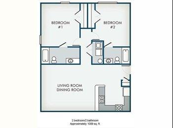 EasyRoommate US - Need Subleaser For Fulton Place Apartments - Burlington, Greensboro - $560 pcm