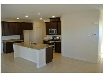 EasyRoommate US - Brand New house !!! 2 rooms avalible - Green Valley, Las Vegas - $500 pcm