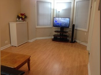 $650 Full Furnished 1B Apt for rent/roommate